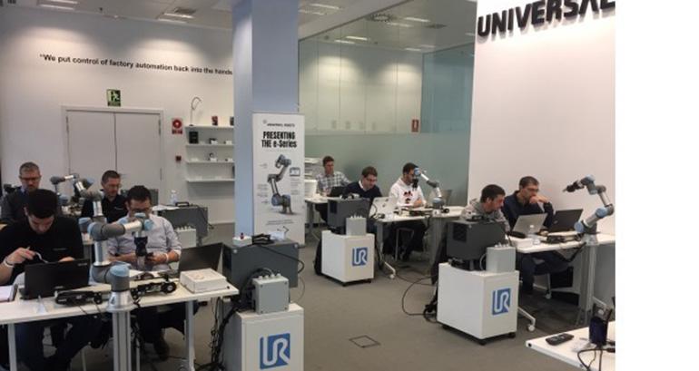 Universal Robots inaugura dos de los cuatro centros de formación con los que contará en España en 2019