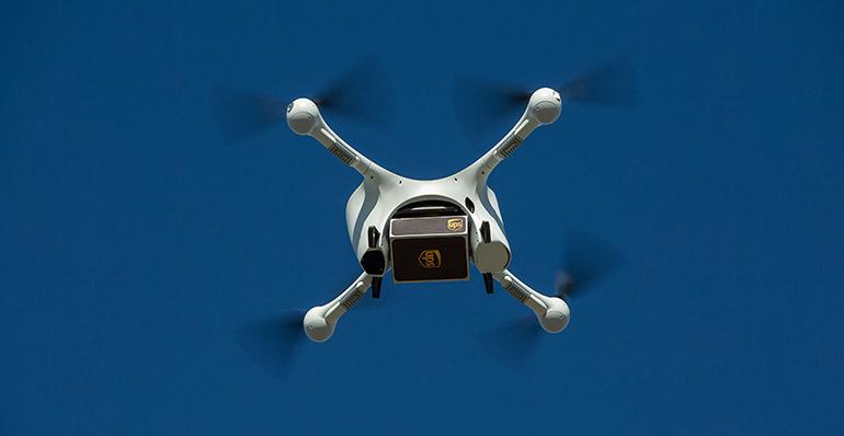 UPS lanza un servicio de entrega por drones para medicamentos de la farmacéutica CVS