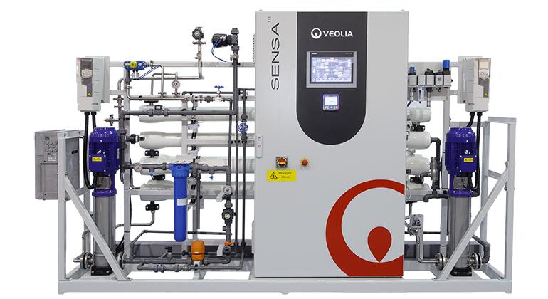 Producción de agua para la industria cosmética