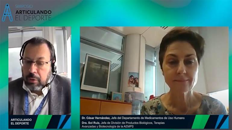 """Sol Ruiz, de la AEMPS: """"Los productos de terapia avanzada que lleguen van a ser un éxito en su aplicación"""""""
