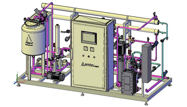 Nueva gama de plantas de producción de agua purificada