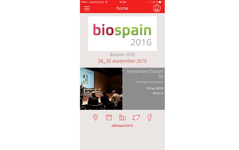 App para estar al día en Biospain