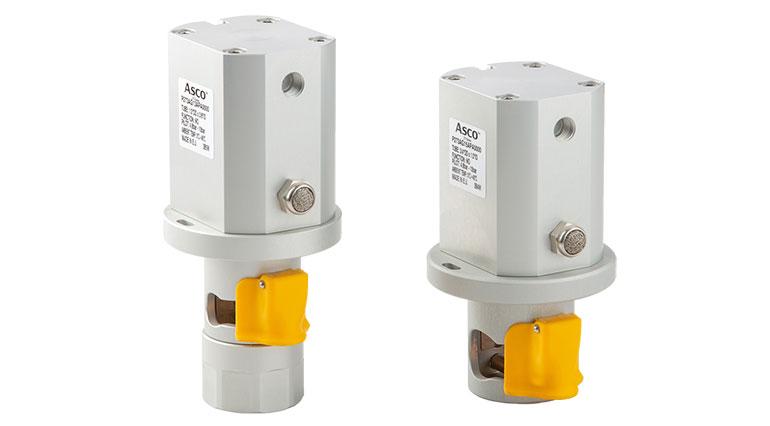 Válvula neumática de pinzamiento que optimiza la producción en lotes de un solo uso
