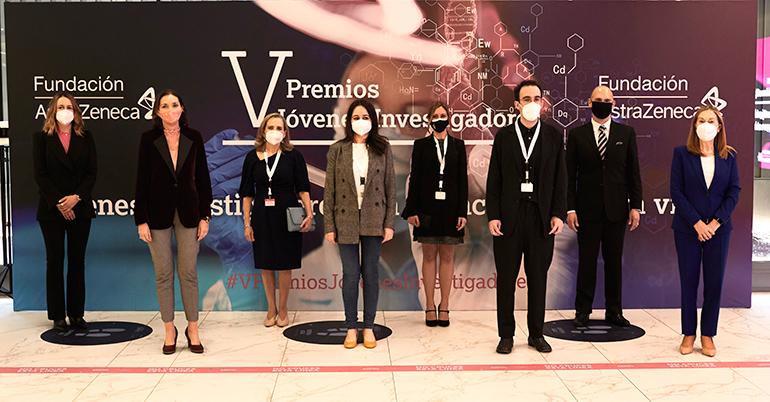 La Fundación AstraZeneca celebra la V edición de los Premios Jóvenes Investigadores