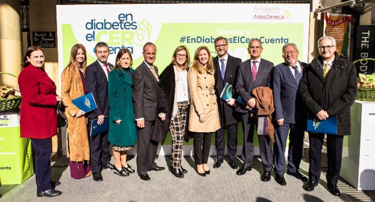 Fundación AstraZeneca impulsa un pacto social contra la diabetes en España
