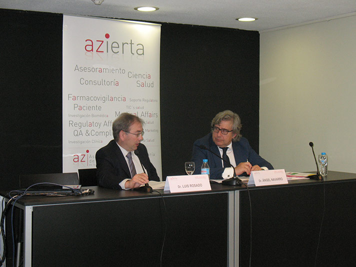 De izda. a dcha.: Luis Rosado y Ángel Navarro