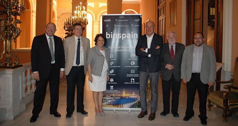 Biospain 2018 en Sevilla