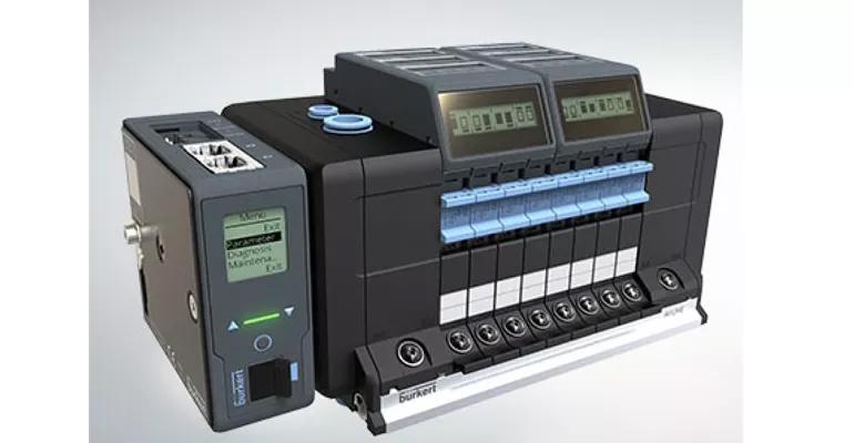 Soluciones de automatización con control neumático integrado para plantas de producción