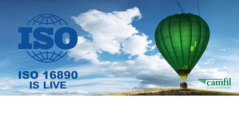 Camfil da la bienvenida al nuevo estándar ISO 16890