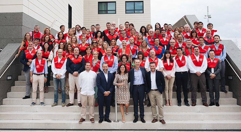 Los empleados de Celgene finalizan el postgrado de especialista en Salud y Gestión de la Industria Farmacéutica