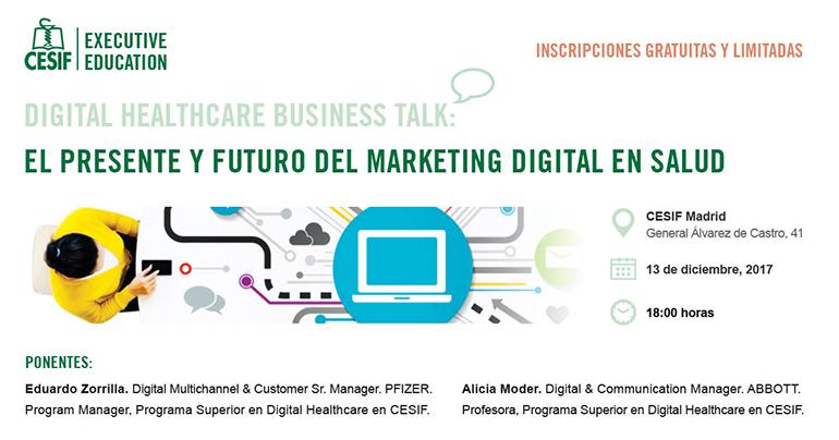 Presente y futuro del marketing digital en salud