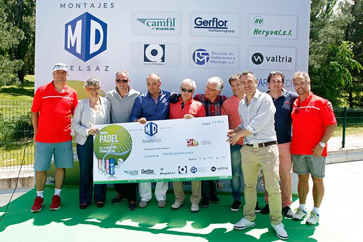 VI torneo de pádel Madrid