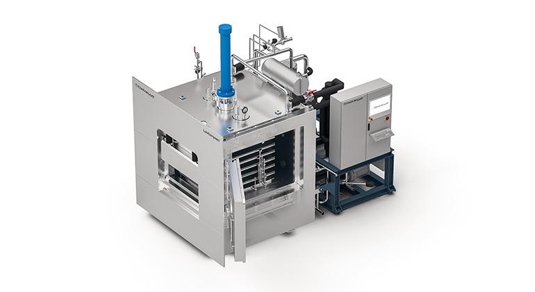 Equipo compacto y versátil para la liofilización de productos farmacéuticos en entornos GMP