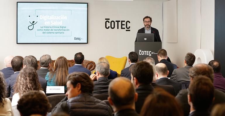 Cotec presenta un informe sobre digitalización en salud