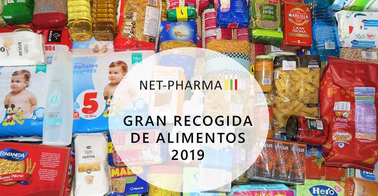 Éxito de Net-Pharma en la recogida de alimentos para la Operación Kilo