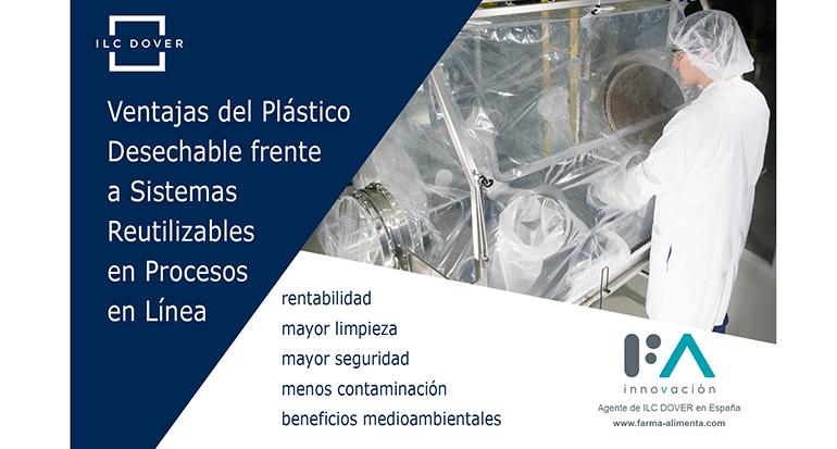 Ventajas del plástico desechable frente a sistemas reutilizables en procesos en línea