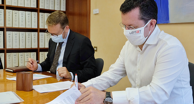 Esteve y Leitat alcanzan un acuerdo para impulsar la I+D+i