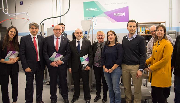 Inaugurado el laboratorio B. Braun-Eurecat para el desarrollo de nuevos materiales