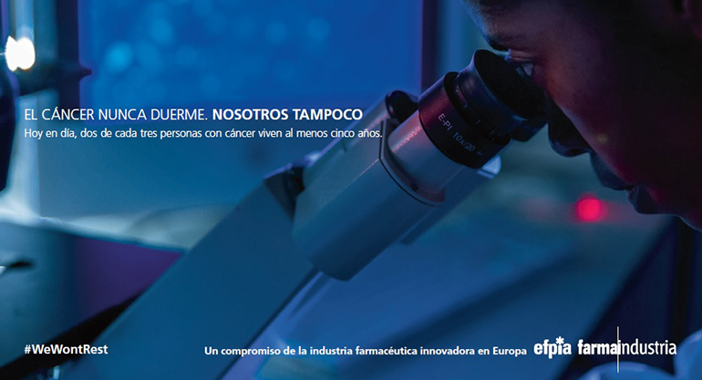 La industria farmacéutica europea lanza la iniciativa #WeWontRest