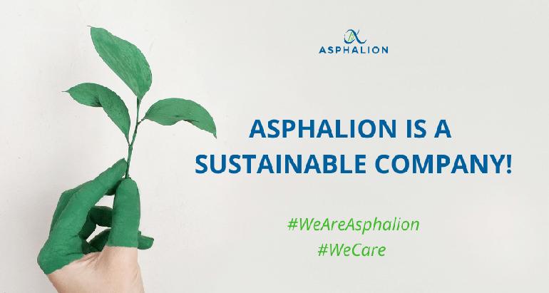 Asphalion, sostenibilidad