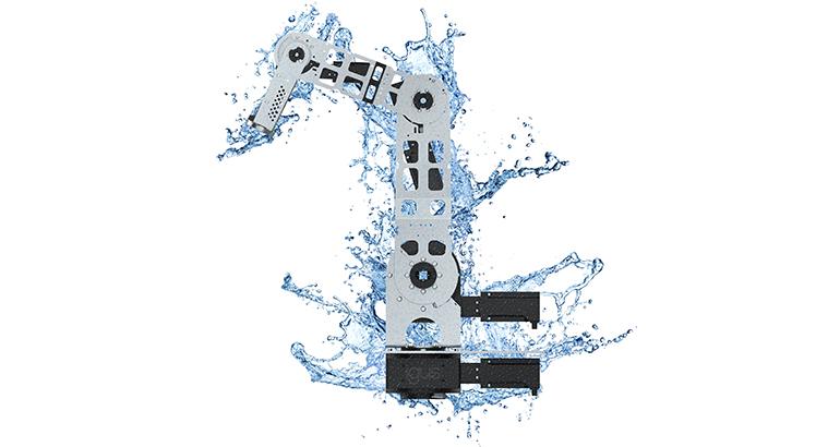 Robot que desafía los entornos húmedos