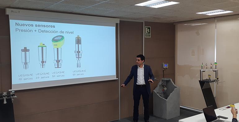 Vega Instrumentos presenta sus sensores en una press conference