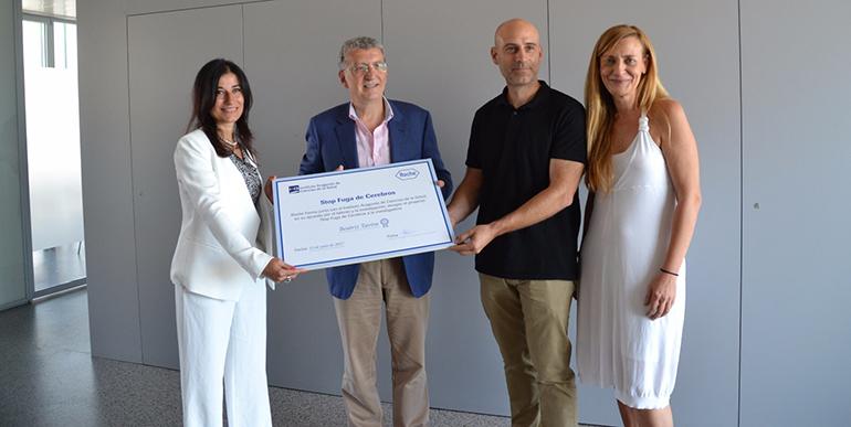 El proyecto 'Stop fuga de cerebros' otorga una beca a Beatriz Tavira para investigar en el CIBA