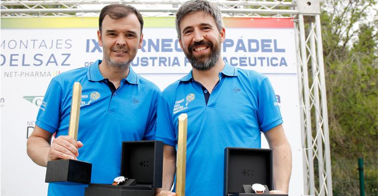 la pareja de Normon gana el torneo de pádel de Madrid 2019