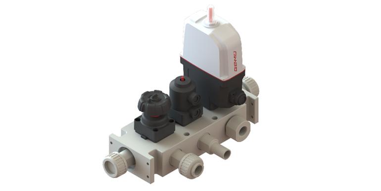 Solución de bloque de válvulas multipuerto