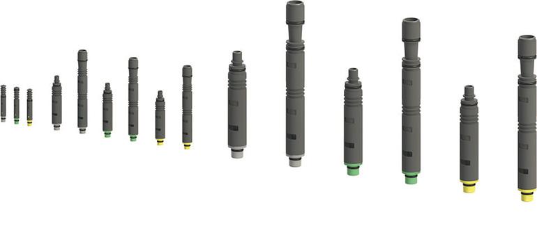 Gama modular e integrable de eyectores de vacío