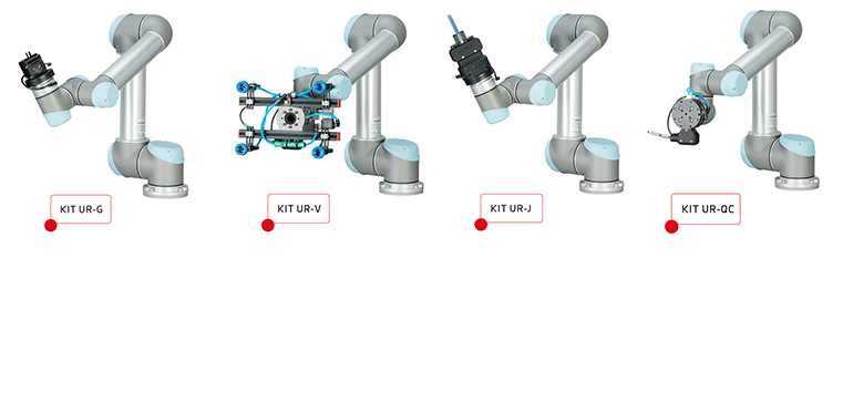 Gama de kits de integración con robots colaborativos