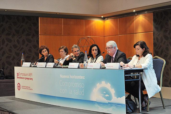 Inauguración del 35 symposium de la AEFI
