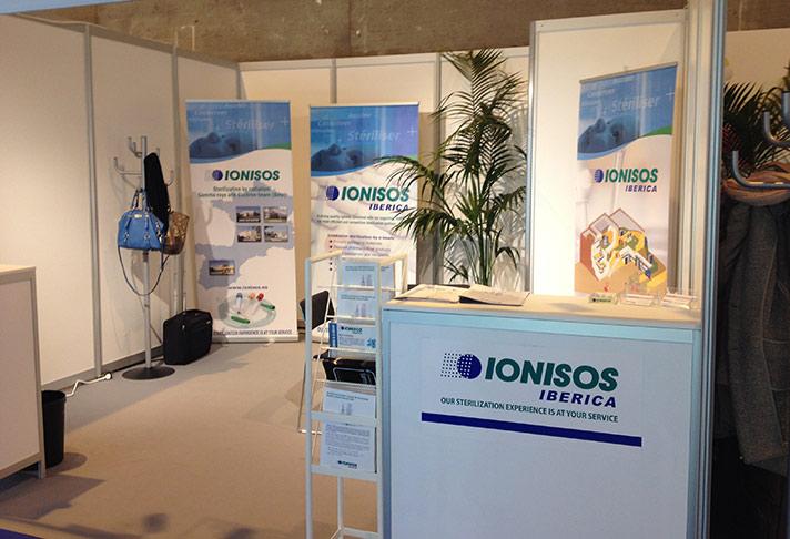 Ionisos Ibérica mostró su tecnología de esterilización en la CPhi de Madrid