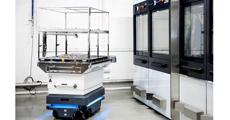 Solución robótica de MiR para centrales de esterilización
