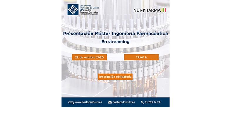 La UFV y Net-Pharma presentan el Máster en Ingeniería Farmacéutica