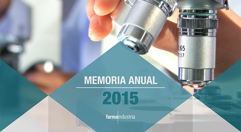 Memoria Farmaindustria 2015