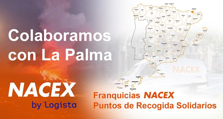 Solidaridad de Nacex con La Palma
