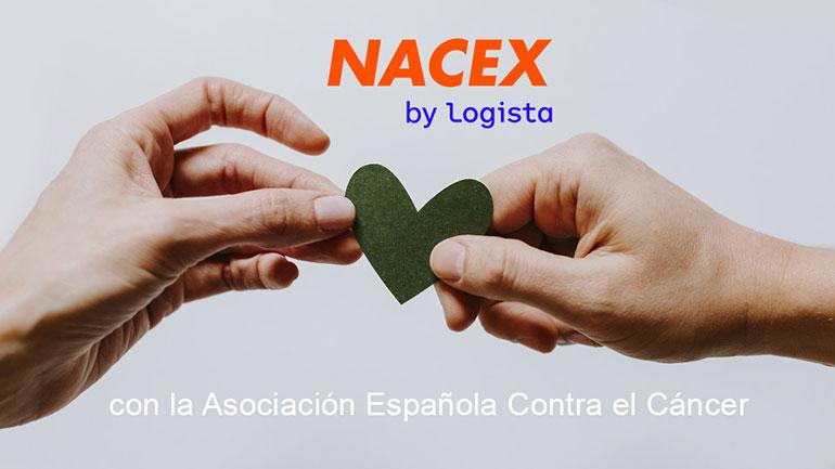 NACEX y la Asociación Española Contra el Cáncer firman su primer acuerdo de colaboración