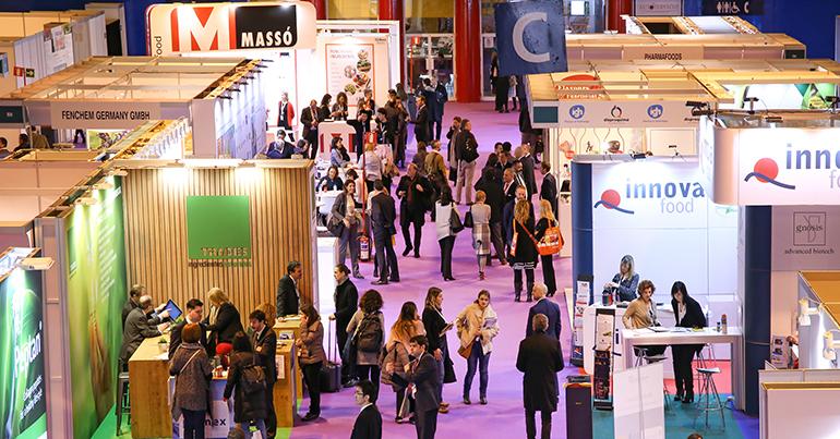 Más de 2.000 profesionales acudieron a Nutraceuticals Europe para conocer lo último en ingredientes funcionales