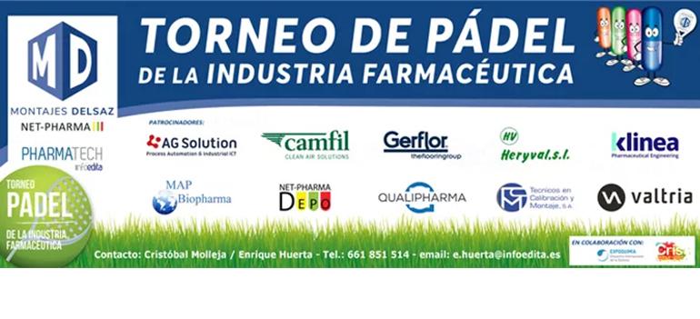 La IX edición del torneo de pádel de la industria farmacéutica se celebra los dos próximos domingos en Madrid y Barcelona, respectivamente