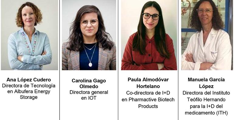 Fundación Parque Científico de Madrid reconoce la labor de cuatro mujeres científicas en el día de la mujer y la niña en la ciencia