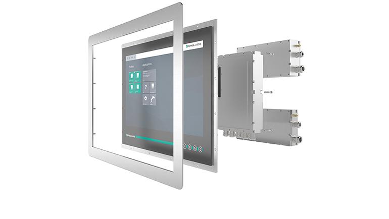 Sistema HMI modular para áreas con riesgo de explosión