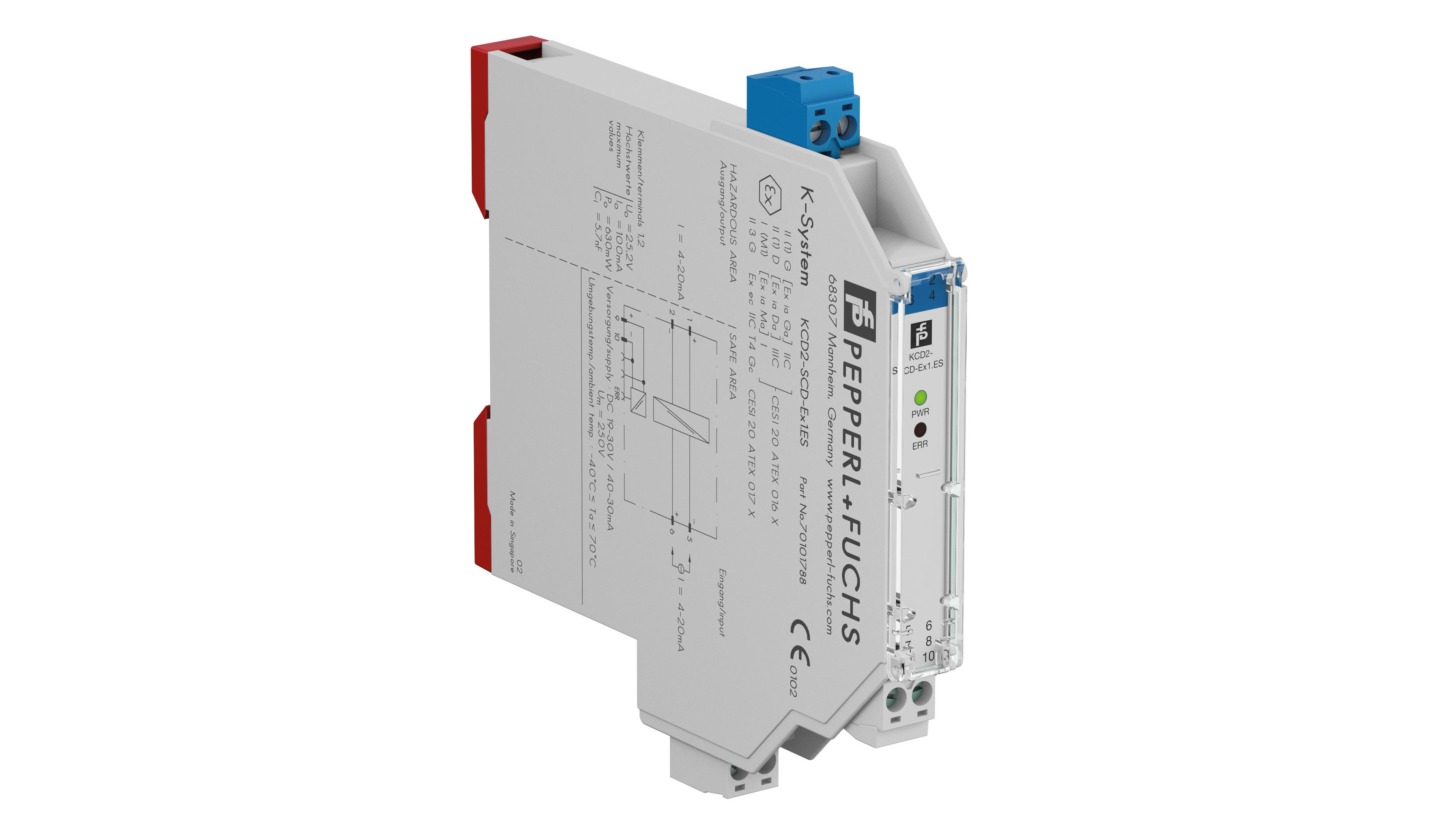 Controladores de corriente SIL 3 para zonas peligrosas