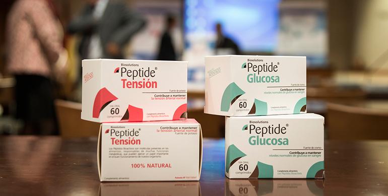 BIOPEPTIDE lanza al mercado dos complementos alimenticios que consiguen bajar la tensión y la glucosa en sangre a base de péptidos lácteos