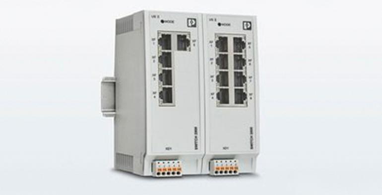 Nuevos switches para aplicaciones Profinet