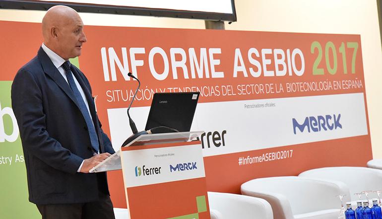 Asebio presenta su informe anual en el que toma el pulso al sector biotecnológico español durante 2017