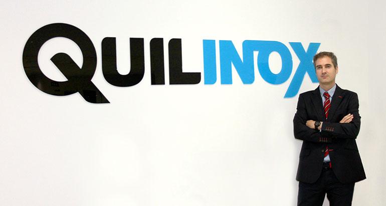 Alberto Tellechea, director comercial y de márketing de Quilinox