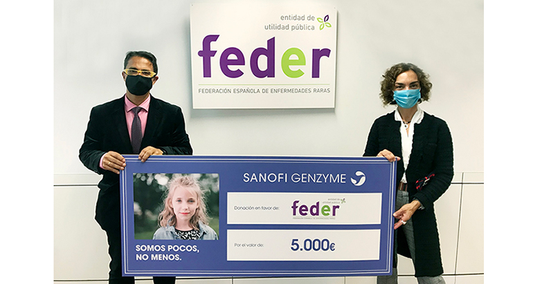 Donación de Sanofi en la lucha contra las enfermedades raras