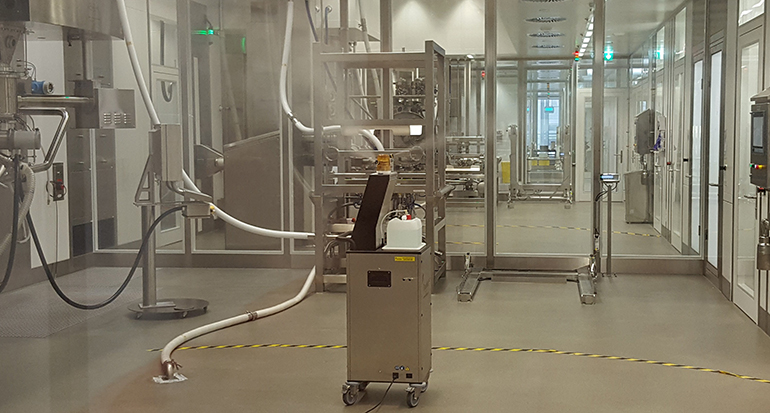 Soluciones para biodescontaminación