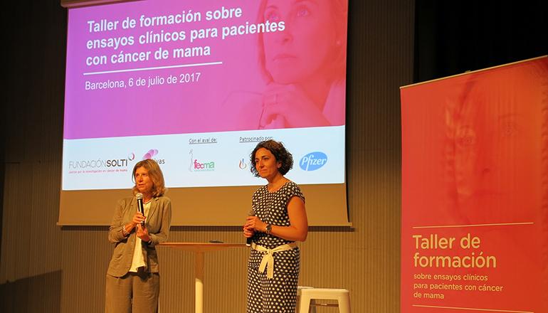 Taller de formación sobre ensayos clínicos para pacientes con cáncer de mama